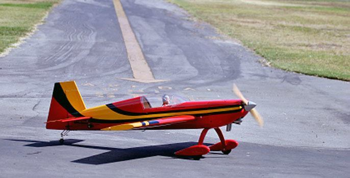 RC Plane Flying in Oregon